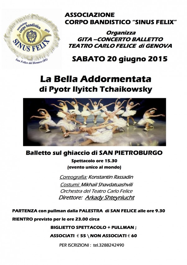 BALLETTO la bella addormentata